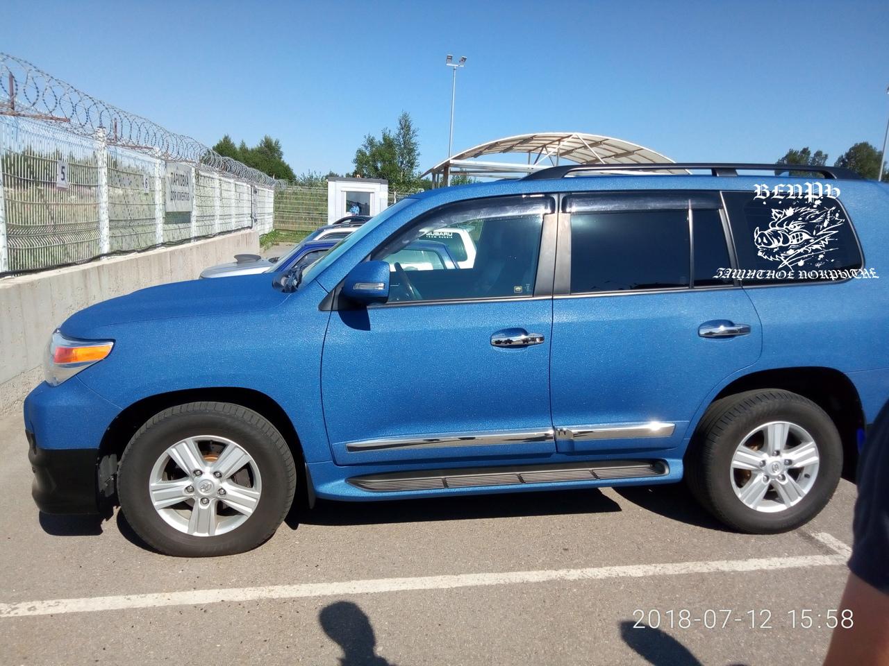 Защитное покрытие, Вепрь, полимочевина, полимочевина на авто, Toyota. toyota LC200. LC200. Land Cruiser 200
